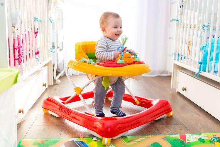 Ako vybrať detské chodítko?