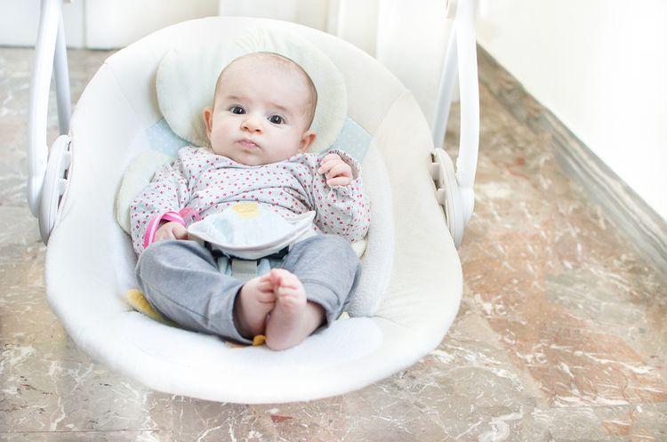 Hojdacie ležadlo pre bábätko