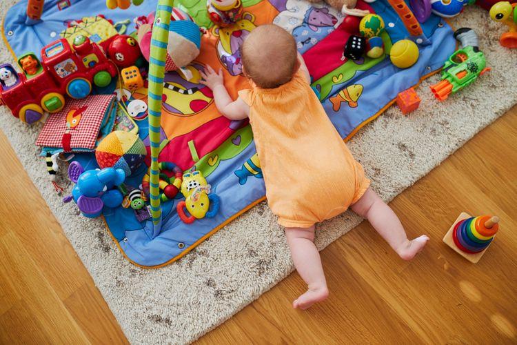 Hracia deka s hrazdou pre väčšie deti