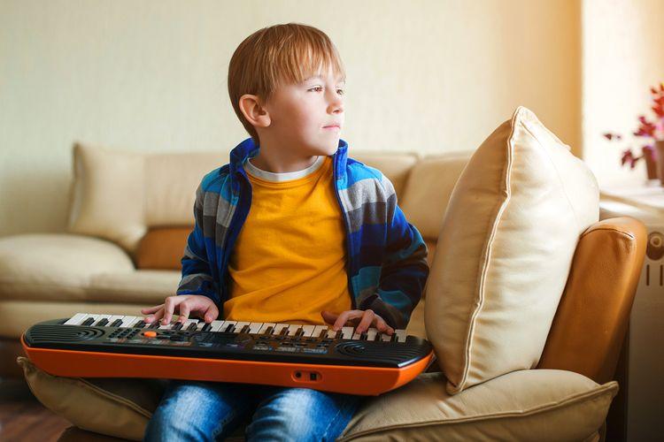 Elektronické klávesy ako interaktívna hračka