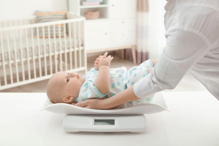 Digitálna dojčenská váha na váženie novorodencov