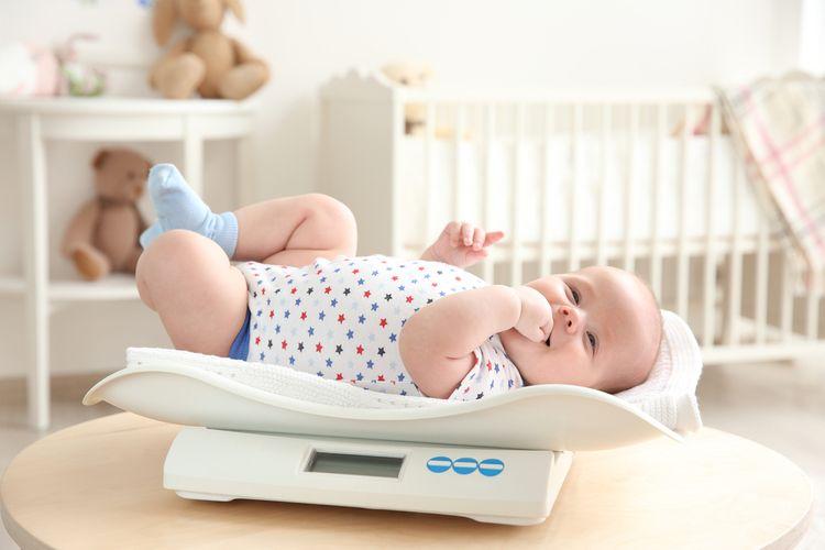Digitálna dojčenská váha