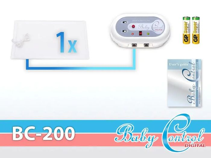 Baby Control Digital BC-200 príslušenstvo
