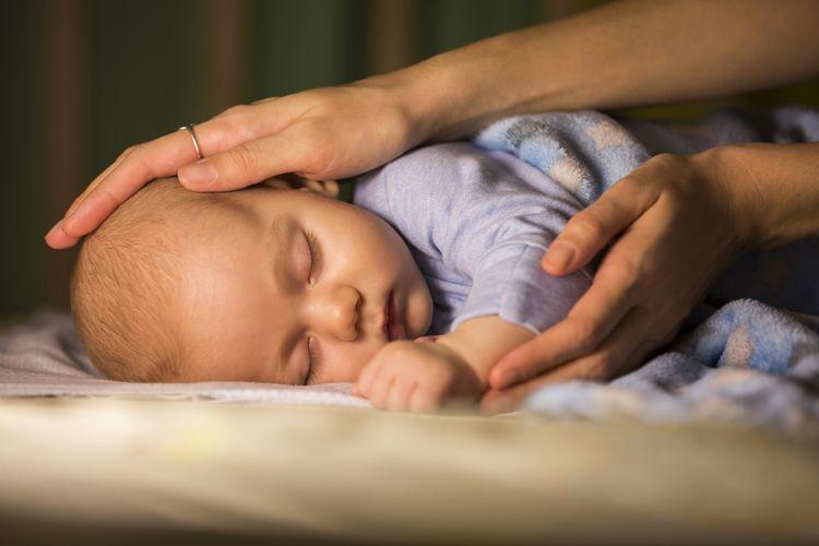 Kontrola spiaceho dieťaťa