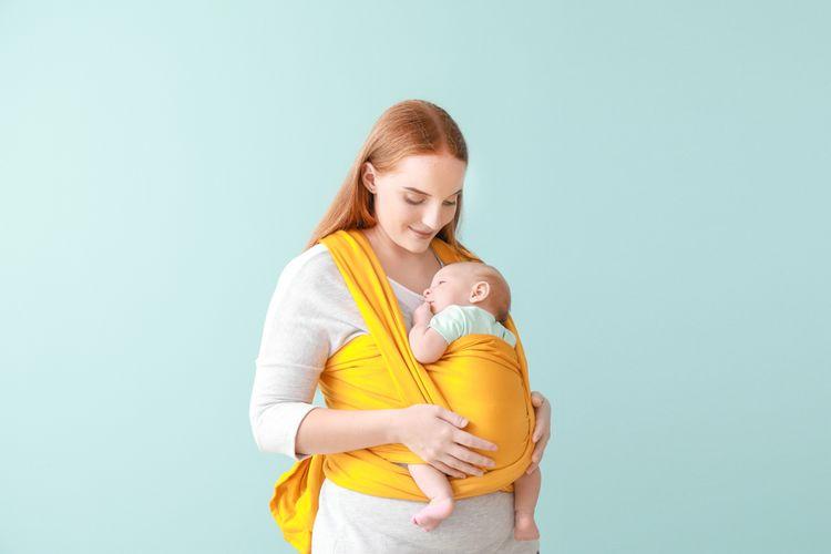 Ako vybrať šatku na nosenie detí?