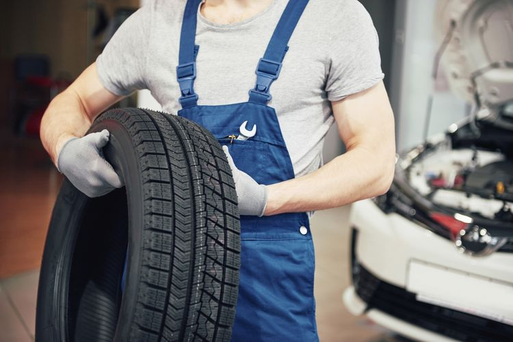 Výmena pneumatík v servise