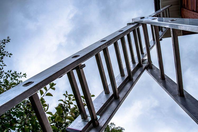 Trojitý výsuvný rebrík