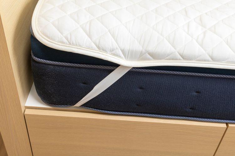 Nepriepustný chránič na matrac s gumičkami
