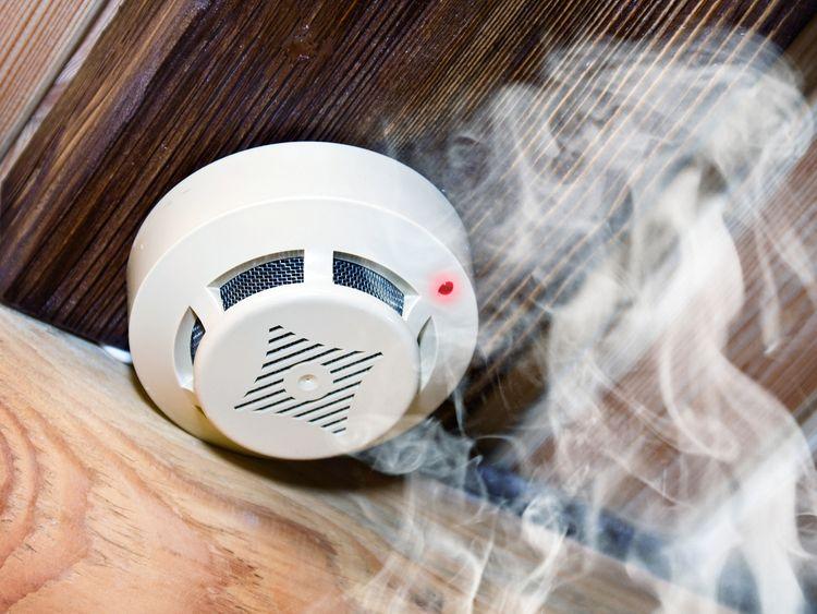 Senzor detektora dymu