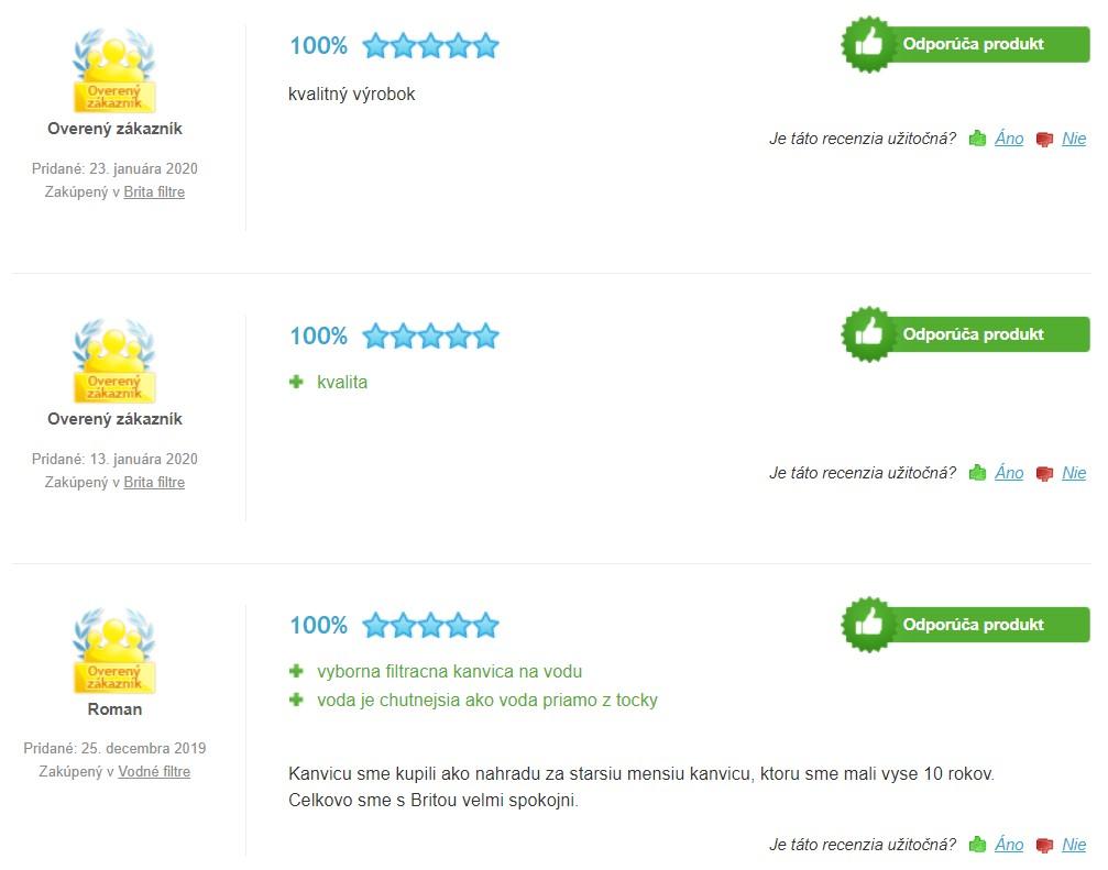 Recenzie a skúsenosti s filtračnou kanvicou Brita Marella XL 3,5 l