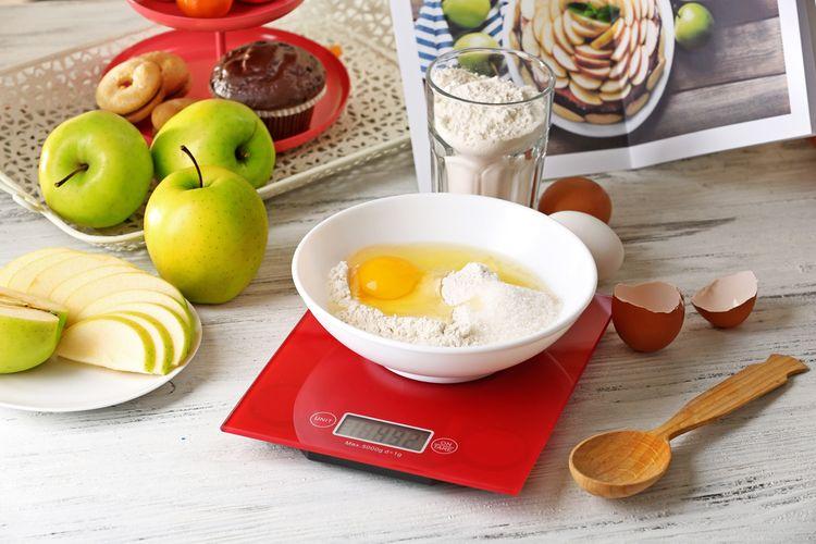 Funkcie digitálnej kuchynskej váhy