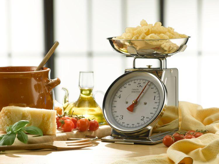 Mechanická kuchynská váha