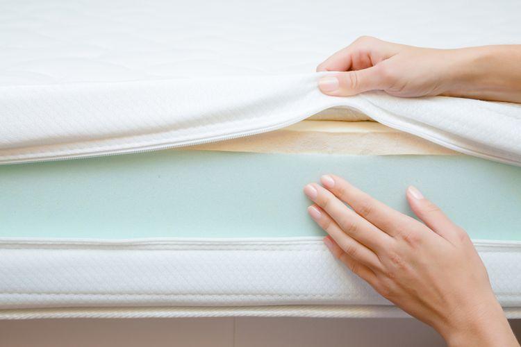 Nový matrac - vrstvy