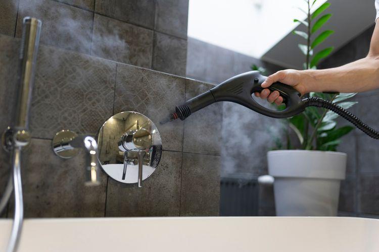 Použitie parného čističa v kúpeľni