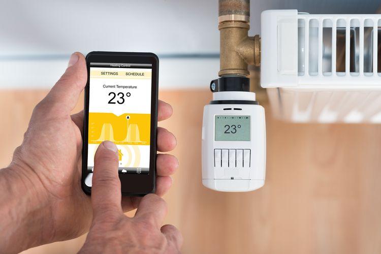 Inteligentný termostat na radiátor