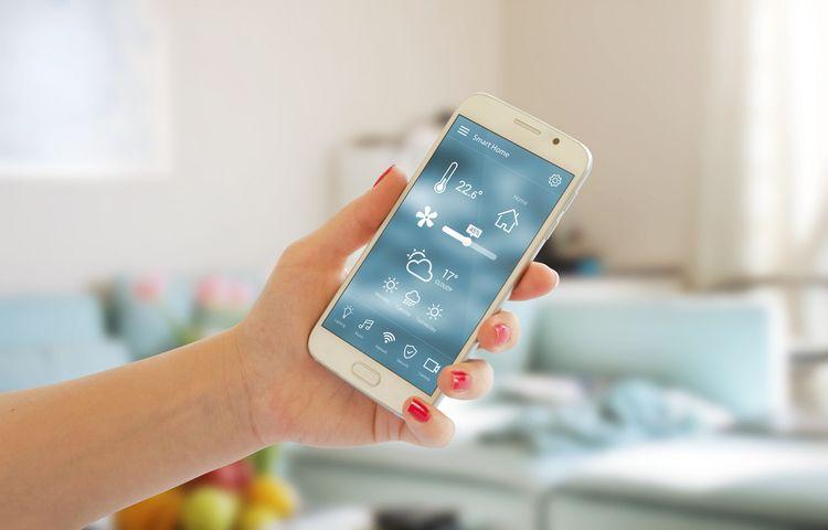 Inteligentný termostat s ovládaním cez telefón
