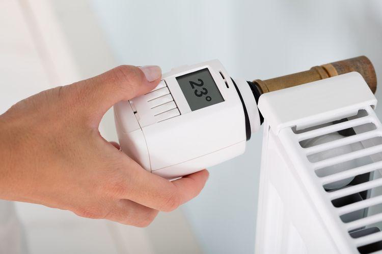 Manuálnyizbový termostat – termostatická hlavica na radiátor
