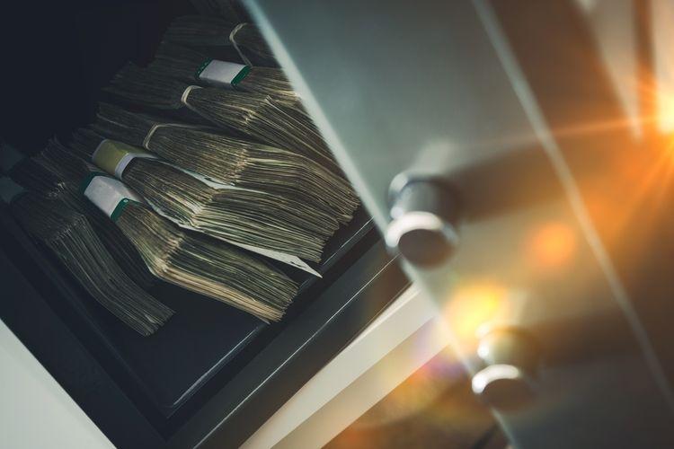 Trezor na peniaze