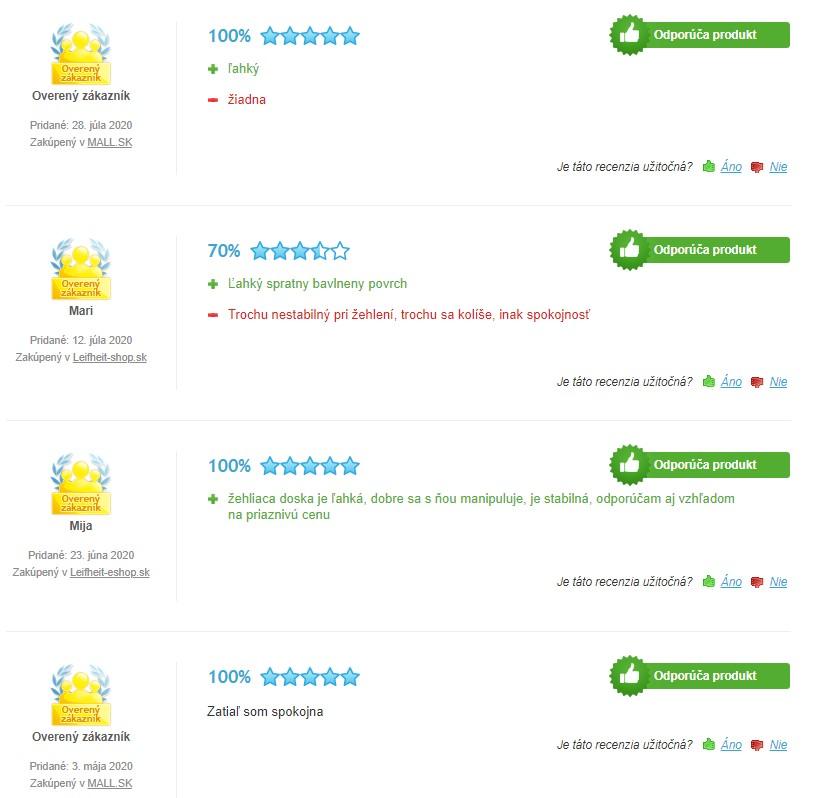 Recenzie a skúsenosti so žehliacou doskou Leifheit AirBoard Premium M Plus NF
