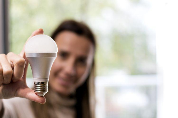 LED žiarovka s E27 závitom