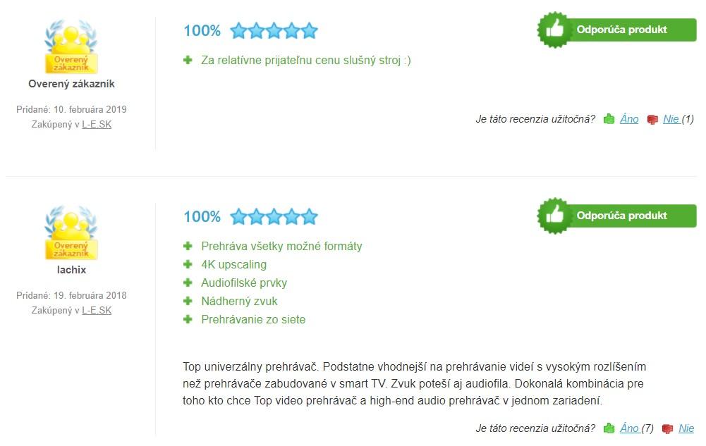 Recenzie a skúsenosti s Blu-ray prehrávačom Yamaha BD-A1060