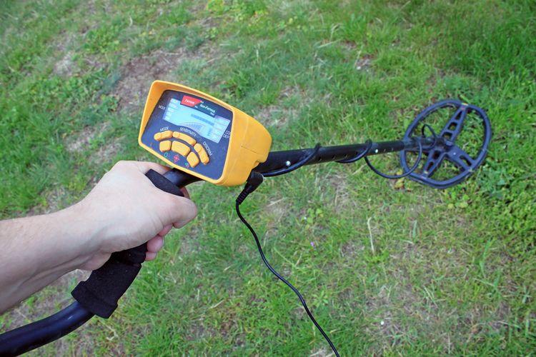 Digitálny hobby detektor kovov