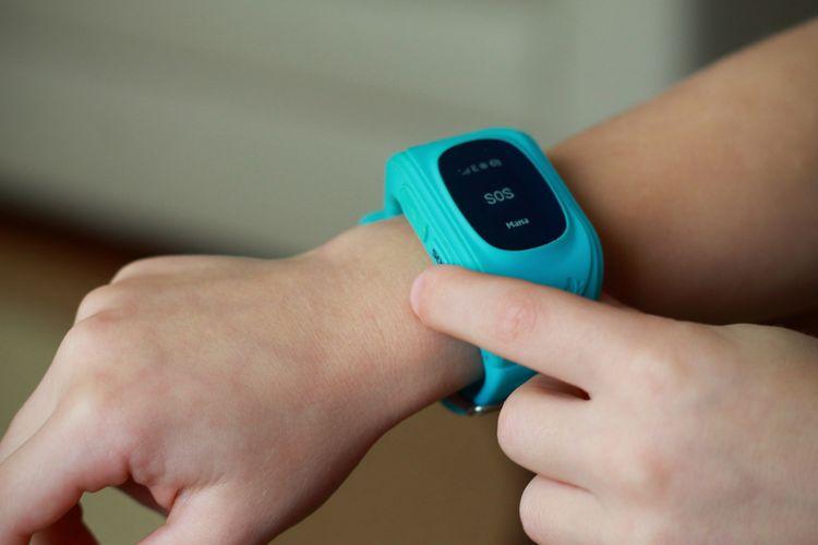 Detské hodinky s GPS s SOS tlačidlom