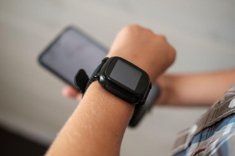 Detské hodinky s GPS a telefónom