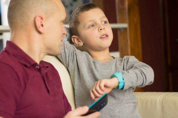 Spárovanie detských hodiniek s SPS so smartfónom