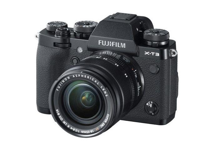 Digitálny fotoaparát Fujifilm X-T3 s čiernym telom