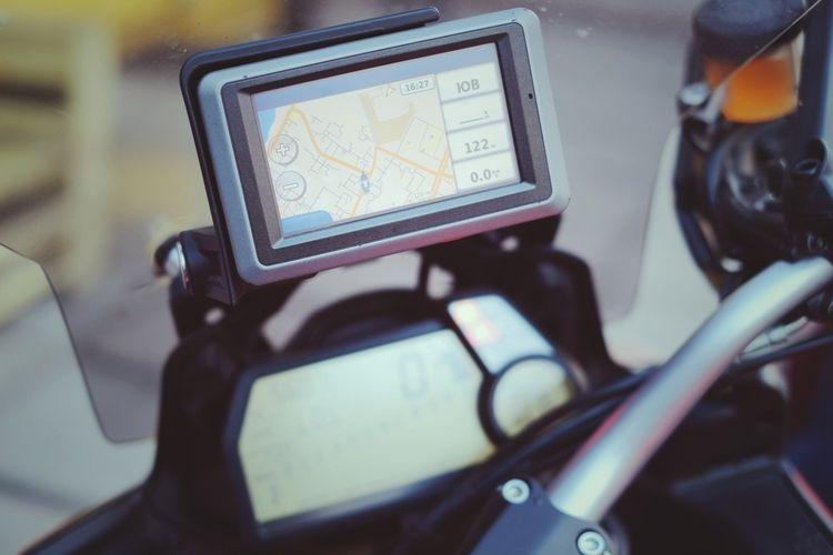 GPS navigácia na motorku