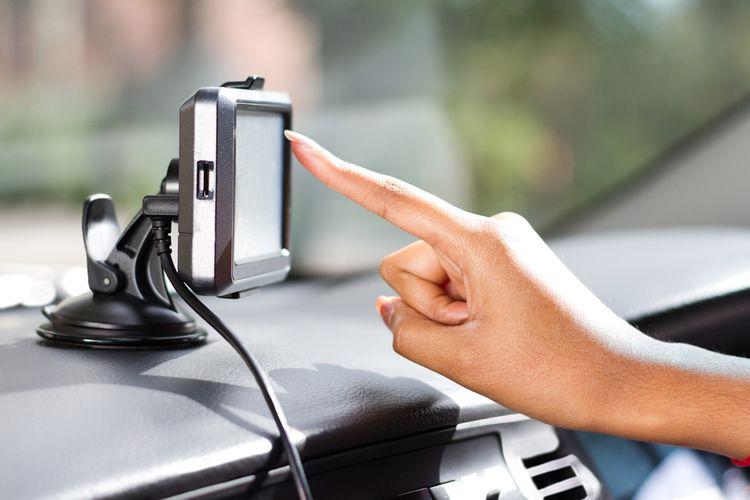 GPS navigácia s dotykovým displejom