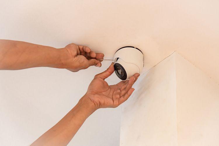 Inštalácia IP kamery na strop