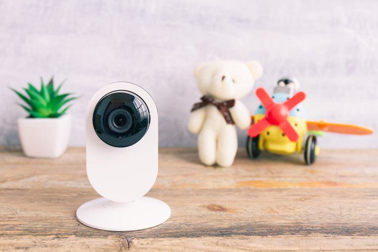 Biela interiérová IP kamera