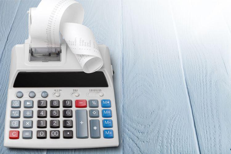 Kalkulačka s tlačiarňou