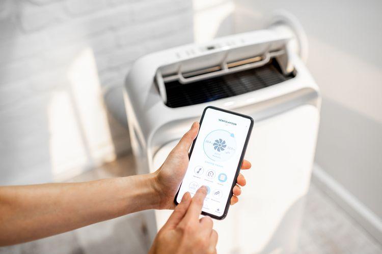 Mobilná klimatizácia s Wi-Fi ovládaním