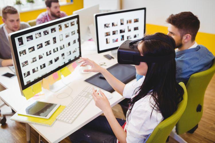 Okuliare na virtuálnu realitu k PC