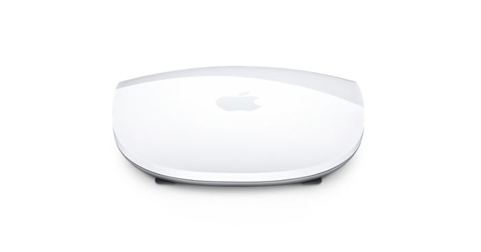 Počítačová myš Apple Magic Mouse 2 v bielom prevedení