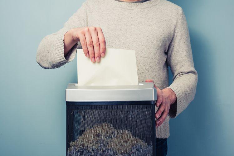 Výber skartovačky papiera