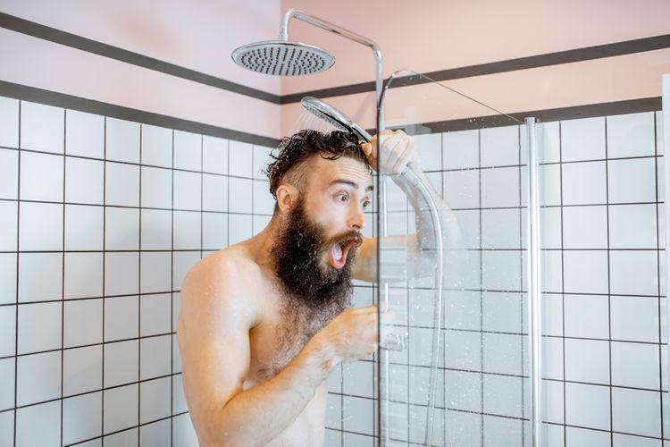 Ľadová sprcha nie je na ochladenie počas teplých dní vhodná