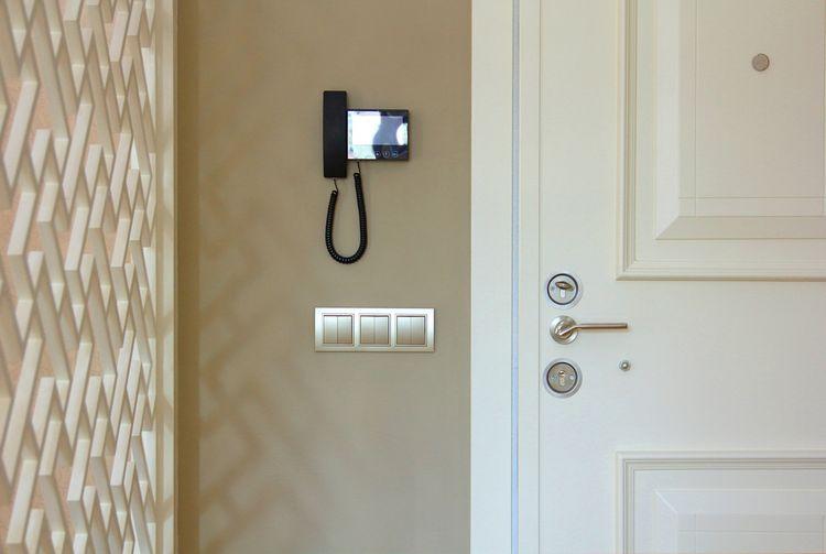 Umiestnenie videovrátnika pri vchodových dverách