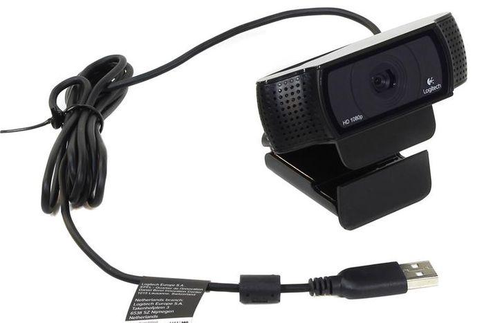 Webkamera Logitech C920 HD Pro Webcam s automatickým ostrením
