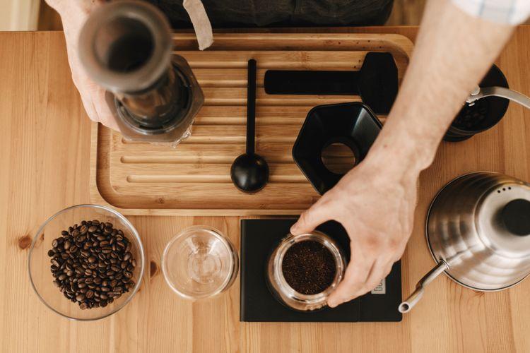 Štandardná metóda prípravy kávy