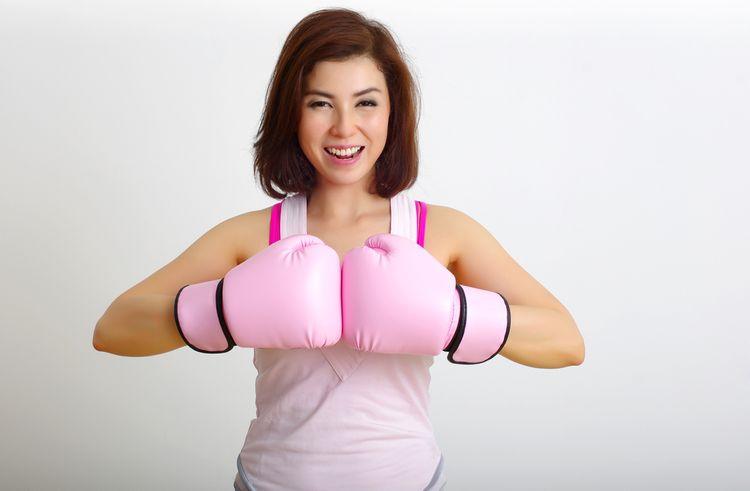 Dámske boxerske rukavice pre začiatočníkov