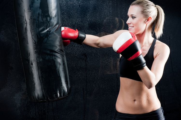 Boxovacie vrece zo syntetickej kože