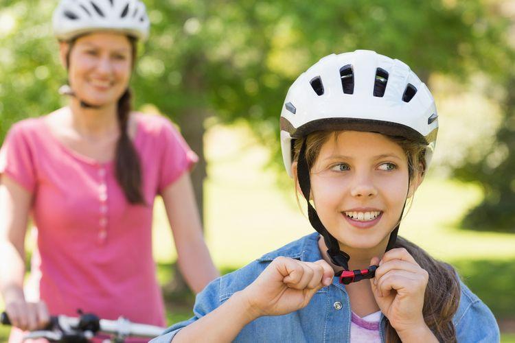Vetracie otvory na cyklistickej prilbe