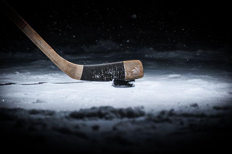 Jednodielna drevená hokejka