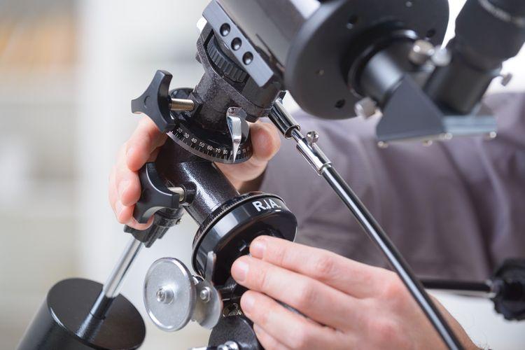 Montáž teleskopu