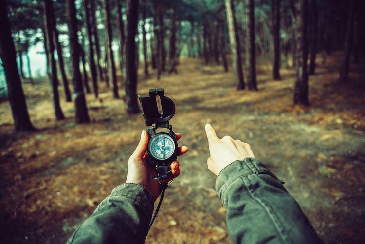 Orientácia podľa kompasu