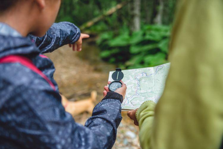 Ako používať kompas/buzolu?
